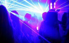 Grey Goose La Nuit des Étoiles LED Dresses