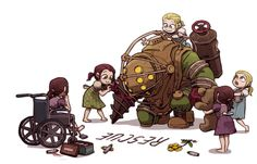 UNOO Video Game Logic, Video Game Art, Video Games, Bioshock Game, Bioshock Series, Bioshock Rapture, Bioshock Infinite, Bioshock Artwork, Fanart