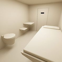 3d prison model - Modern Prison Cell... by QLEE