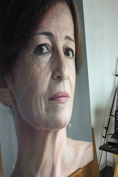 Portrait pastel sec - Portrait soft pastel - Artist Rubén Belloso Adorna - Pastel on wood. 150 x 100 cms Pastel Portraits, Different Media, Pastel Drawing, Science Art, Art Google, Pencil Drawings, Art Photography, Sculptures, Artwork