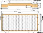Bauplan Stapelbett