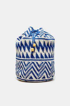 tapestry crochet Backpack