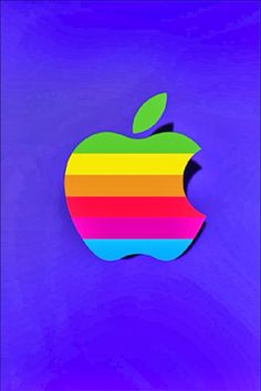 Apple Logo Wallpaper Iphone, Wallpaper Backgrounds, Iphone Wallpapers, Cool Art, Nice Art, Logo Style, Symbols, Steve Jobs, View Source
