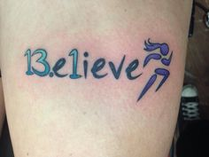 Running tattoo ~ 13.1  Minus the runner I love this. I think this will be my next one.