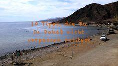 10 Dinge, die Du in #Dahab nicht verpassen solltest  #egypt #travel #scuba #bluehole #tauchen