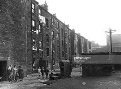 Flats in Camden Street in the Gorbals area of Glasgow The Gorbals tenements were built quickly and...