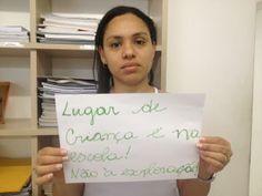 A Jaciara Diniz apoia a #CopaDasMeninas contra a exploração sexual infantil!