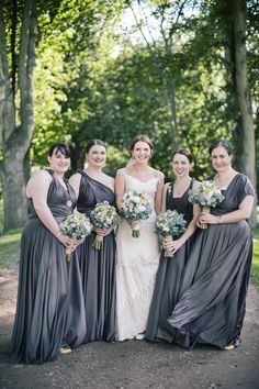 South Jersey Wedding florist - A Garden Party florist - Tina Jay Photography - Pratt Gardens - rustic wedding - country wedding - lavender - lilac- tulips - hydrangea - peonies Autumn Wedding, Rustic Wedding, Wedding Grey, Wedding Lavender, Wedding Country, Blue Bridesmaid Dresses Short, Bridesmaids, Vintage Inspired Wedding Dresses, Wedding Attire