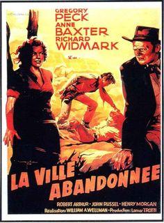 Yellow Sky Movie | affiche La Ville abandonnée 9735