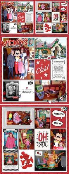 Mickey's House | A Disney Project Mouse Story - A Photo Book from Kathleen Summers - Sahlin Studio Project Mouse