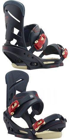 Bindings 21248: Brand New Burton Mission Est Men S Snowboard Binding Size Medium Navy Red -> BUY IT NOW ONLY: $150 on eBay!