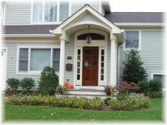 raised ranch portico | Contact your NJ Home Improvement Contractor if you have any questions ...