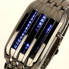 I like the idea of wristwatches still around deep into the future. --SECP.  Tokyo Flash futuristic watch