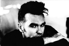 #Morrissey photographed by #AntonCorbijn - original image used for the Piccadilly Palare single sleeve.