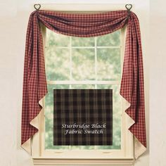 country style kitchen curtains discount country kitchen curtains black sturbridge lined fishtail swag by