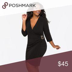 Chetta B - Black Jersey Dress - Size 10 | Size 10 and Black