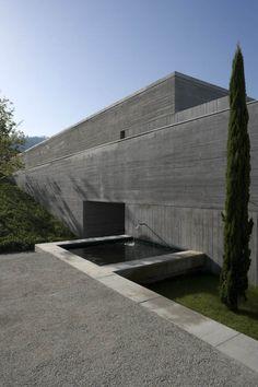 House in Bom Jesus, Portugal by Eduardo Souto de Moura