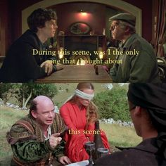 I kept laughing throughout it because The Princess Bride was all that I could think of!