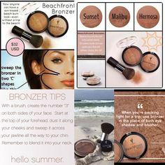 Want that sun-kissed look but can't go to the beach? Younique has an amazing Beachfront Bronzer that'll get you glowing in no time!