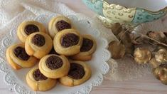 You can read up on the latest fitness, lifestyle, nutrition, and mind Greek Cookies, Dessert Recipes, Desserts, Greek Recipes, Almond, Sweet Treats, Muffin, Food And Drink, Pudding