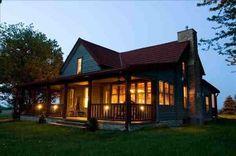 Love this log cabin!