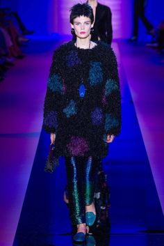 Armani Privé Fall 2015 Couture Fashion Show - Alexandra Elizabeth (Elite)