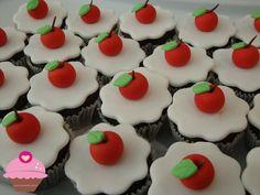 Mini cupcakes da Branca de Neve