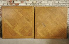 Oak wood Versailles parquet floor with dowels, 50 panels - Floors Available on #MarcMaison 's website