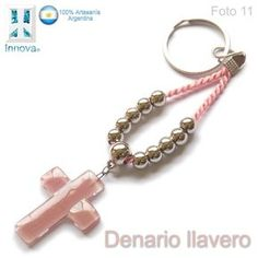 souvenirs denarios llaveros vitrofusion comunion bautismos