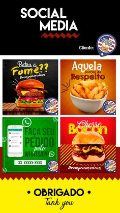 trendy ideas for fitness logo packaging Social Media Poster, Social Media Banner, Food Poster Design, Food Design, Social Media Instagram, Social Marketing, Food Banner, Fast Food Chains, Food Backgrounds