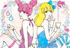 +。♪* SugarToy * by イラストレーター 蛯原あきら *♪。+ >> Illustration