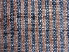 SHI-FU WOVEN PAPER FABRICS  COTTON WARPS; WEFT THREADS ARE RECYCLED  WASHI RICE-PAPER PAGES FROM ACCOUNTING LEDGERS  縦糸: 木綿 ・ 横糸: 古大福帳を縒った紙糸  ALL MID - LATE 19C      VERMILION FLECKS ARE NAME STAMPS FROM LEDGERS  赤い点は朱印
