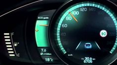 New Volvo V40 2012 - Active TFT Display at instrument cluster