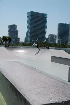 Skate Park in Diagonal Mar