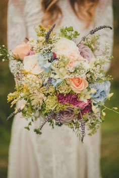 incredible country garden bouquet