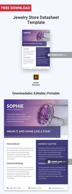 Free Health Spa Datasheet Pinterest Template and Photoshop - product spec sheet template