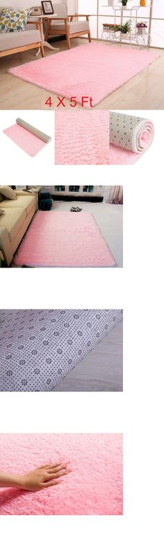 Kids Rugs: Super Soft Shag Area Rug Living Room Bedroom Carpet Mat ...