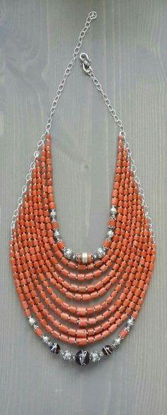 Салюк  Pinned by @Manaro Design  Jewelry | Beading | Bracelet | Necklace | Earrings