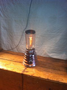 blender lamp. Switch is also a dimmer!