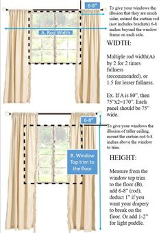 Pair of Belgian Linen Curtains, Canvas weight linen, custom curtains, extra long curtains, 12 Color Choices No Sew Curtains, Drop Cloth Curtains, Long Curtains, Curtains Living, Rod Pocket Curtains, Custom Curtains, Hanging Curtains, Panel Curtains, Linen Curtain