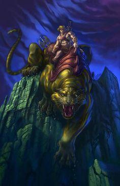 Battlecat | #comics #motu #battlecat #heman