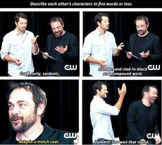 The sass is strong with Mark Sheppard
