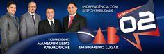 Adesivo - Campanha vitoriosa das eleições suplementares da OAB/MS em 2014.