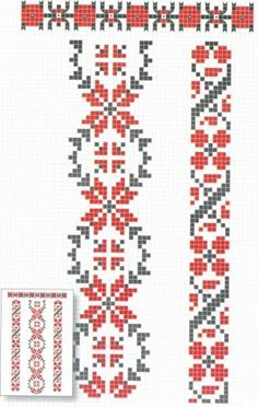Old cross stitch pattern. Cross Stitch Bookmarks, Cross Stitch Borders, Cross Stitch Flowers, Cross Stitch Charts, Cross Stitch Designs, Cross Stitching, Cross Stitch Patterns, Folk Embroidery, Cross Stitch Embroidery