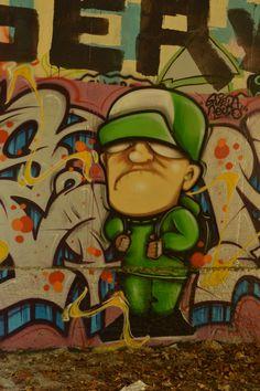 Canal Saint Martin October 2014 #streetart #grafitti
