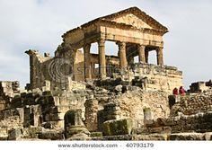 Roman Ruins at Dougga, Tunisia