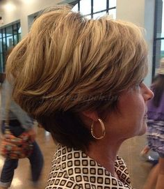 Modern Haircuts for Women over 50 with Extra Zing short tapered haircut for older women. I like this but I don't think DH would like it this short.short tapered haircut for older women. I like this but I don't think DH would like it this short. Modern Short Hairstyles, Mom Hairstyles, Modern Haircuts, Trendy Hairstyles, Short Hair Styles, Short Haircuts, Asymmetrical Hairstyles, Layered Hairstyles, Feathered Hairstyles