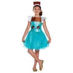 The Shopkins Cheeky Chocolate Classic Girls Costume is the best 2019 Halloween costume for you to get! Everyone will love this Girls costume that you picked up from Wholesale Halloween Costumes! Classic Halloween Costumes, Halloween Costume Shop, Halloween Costumes For Girls, Cool Costumes, Halloween Kids, Trendy Halloween, Children Costumes, Pirate Costumes, Halloween 2017