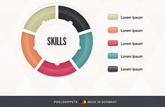 Billedresultat for how to make a skills pie chart in jquery