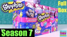 Shopkins Season 7 Full Box 2 Packs Blind Bag Opening Join The Party Shopkins Season 9, Cookie Swirl C, Season 7, Barbie Clothes, Packing, Mole, Blind, Ps, Party